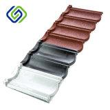 多彩で標準的な金属の屋根ふきシート、高品質の石造りの上塗を施してある鋼鉄屋根瓦