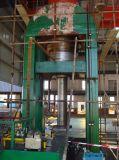Puder, das hydraulische Presse bildet