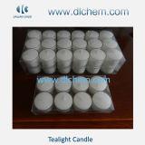 Velas blancas de Tealight de la cera con el mejor precio #16 de la venta caliente