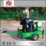 60kw de Stille Diesel 6inch Pomp van het Water 400m3/Hr 70psi met Aanhangwagen