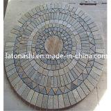 Granito Flame Anti-Slip Sidewalk Tactile Paving Stone per Walkway, Blind