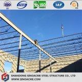 Toit en acier de structure d'armature pour la prolonge de construction
