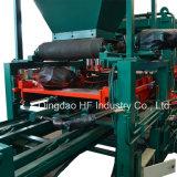 Blocs de cavité de matériel de construction moulant la machine hydraulique semi automatique de bloc concret de la machine Qt4-20c