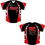 O basebol feito-à-medida Jersey cobre a camisa dos esportes de Dopoo