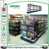 강철 슈퍼마켓 선반 검정 색깔 소매점 상점 선반설치