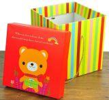 Рифленная бумажная косметическая коробка индикации