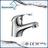 Faucet de lavatório de corpo de bronze único popular (AF1981-6)