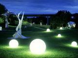 재충전용 다색 방수 정원 옥외 LED 공 (A006)