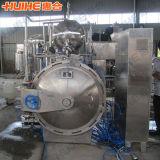 Esterilizador automático lleno del acero inoxidable para el alimento conservado
