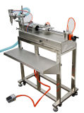 Semi-Автоматическая польностью пневматическая машина завалки масла Одн-Головки с таблицей
