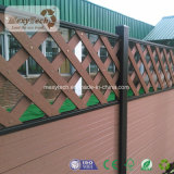 Cerca compuesta de primera del cedazo del jardín de madera WPC