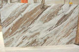 Mattonelle di marmo delle lastre del Brown di fantasia