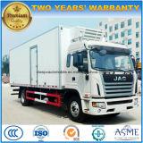 L'alta qualità di JAC 10 tonnellate ha refrigerato il camion di trasporto dell'alimento fresco del camion 4X2