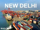 Ar estável/Serviço de Transporte Marítimo de Guangzhou para Nova Deli
