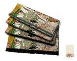 Natürlicher Landschaft-Entwurfs-länglicher Silk Schal