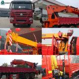 Camion del carico di Sinotruk 371HP con la gru Camion-Montata 5tons