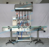 Автоматическая четыре сопла машины для наполнения бачка томатный соус/салат соусом (FLC-400A)