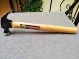 тип молоток с раздвоенным хвостом ручных резцов 8oz американский/молоток плотника/молоток ногтя с деревянной ручкой XL0001-B
