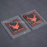 Adaptado de silicona de alta calidad en 3D para la ropa de etiqueta de transferencia de calor