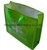 Nouveauté annonçant le sac tissé par pp coloré d'emballage d'achats de supermarché de film
