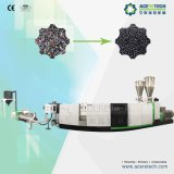 Einzelne Schrauben-Verdrängung-Maschine für den steifen Plastik, der die Pelletisierung aufbereitet