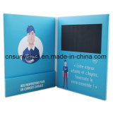 "A4 7 "" LCDのパンフレットのビデオ郵便利用者のホールダーの名刺"