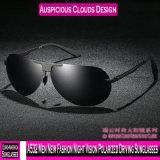 Um532 homens nova visão nocturna de moda polarizado óculos de sol de condução