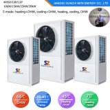 Froid tchèque-20C en hiver la chaleur du radiateur150m² Chambre+55c de l'eau 12kw/19kw/35kw Auto-Defrost Evi Pompe à chaleur à l'eau de chauffage à air