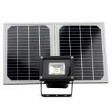 12V/24V LED Projecteur solaire 10W
