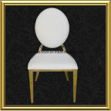 Cadeiras pequenas douradas de Salão do banquete do tamanho da parte traseira redonda da mobília do restaurante para a venda