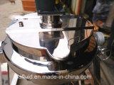 Caldera alzada con el gato inclinable con la salsa de la carne de vaca del mezclador que hace la máquina
