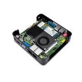 Qotom-Q210s Intel Core-I3 3217u удваивают компьютер PC вентилятора сердечника миниый
