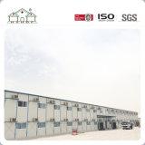 """Structure métallique préfabriquée construisant les Chambres préfabriquées modulaires de panneau """"sandwich"""" de bureau de construction"""