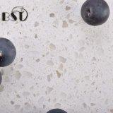 Bancada barata branca projetada da pedra de quartzo