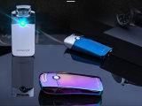 좋은 전자 USB 점화기 전기 아크 프레임 점화기 주문 로고를 가진 주문 상표 금속 아크 라이터