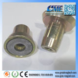 Imán fijo embutido edificio del tubo del PVC Gme-D40X6