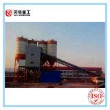 Planta de mistura de tratamento por lotes do concreto da proteção de ambiente 90 M3/H no formulário do recipiente