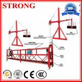 L'acier ou le berceau d'Alumium, gondole, plate-forme d'échafaudage, a suspendu la plate-forme pour le travail supplémentaire