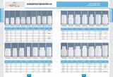 bottiglia di plastica dell'HDPE 120g per le pillole, ridurre in pani, imballaggio della capsula