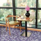 Madeira high-end Cafe cadeira com o Estofamento para venda (FOH-0781)