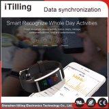 El OEM modificó el sueño del perseguidor para requisitos particulares de la actividad del sueño de la caloría, aptitud Bracele, pulsera elegante de Bluetooth de Bluetooth con la aplicación libre para el iPhone y el teléfono androide