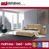 La mode lit double chambre à coucher modernes de conception de meubles lit en cuir (G7005)