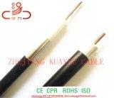Fábrica de China RG59 Cable coaxial CATV Negro PVC 305m/tambor