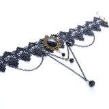 최신 새로운 유럽식 창조적인 숙녀 판매 Lace Necklace