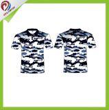顧客用方法Sportswear 印刷の昇華体操Polo