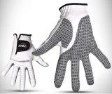 高品質の耐久力のある滑り止めのLambskinのゴルフ手袋
