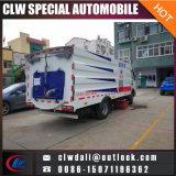 4X2 LHD 3m3の真空のクリーニングの通りの道掃除人のトラック