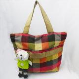 Kundenspezifische Druck-Baumwollform-Segeltuch-Frauen-Handtaschen mit Spielwaren