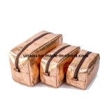 معدنيّة قابل للغسل [كرفت ببر] قلي قرطاسيّة مستحضرات تجميل [كمتيكس] بنية حقيبة