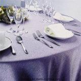 Paño 100% de vector de lujo de la boda del restaurante del poliester European-Style popular